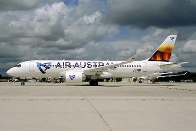 Air Austral Airbus A220-330 (CS300 BD-500-1A11) F-OLAV (msn 55106) (volcano) CDG (Pepscl). Image: 955447.