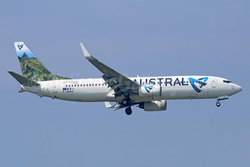 Air Austral Boeing 737-89M WL F-ONGA (msn 40910) BKK (Michael B. Ing). Image: 934580.
