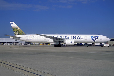 Air Austral Boeing 777-3Q8 ER F-ONOU (msn 35783) CDG (Jacques Guillem Collection). Image: 946001.