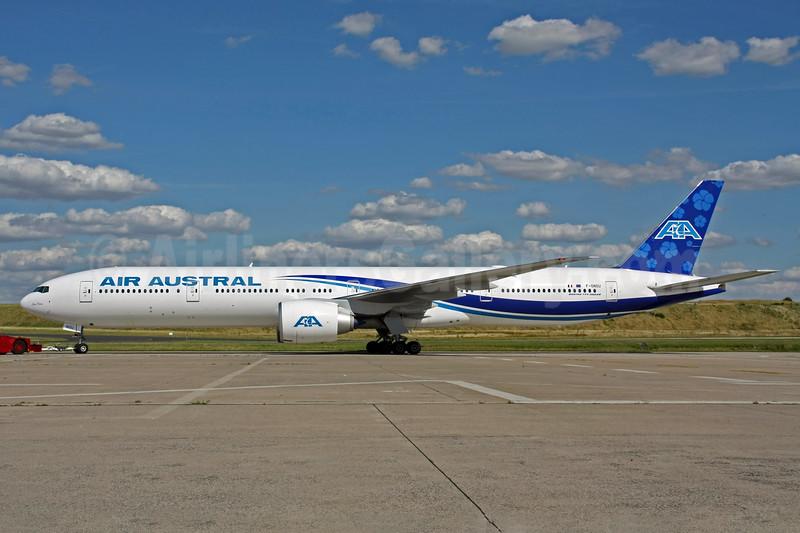 Air Austral Boeing 777-3Q8 ER F-ONOU (msn 35783) CDG (Christian Volpati). Image: 903497.