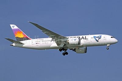 Air Austral Boeing 787-8 Dreamliner F-OLRB (msn 34491) BKK (Jacques Guillem Collection). Image: 950157.