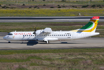 Senegal (Air Senegal) ATR 72-212A (ATR 72-600) F-WWET (6V-AMS) (msn 1447) TLS (Eurospot). Image: 942505.
