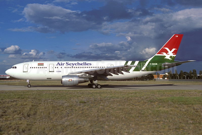Air Seychelles Airbus A300B4-203 F-BVGM (msn 078) ORY (Jacques Guillem). Image: 932148.