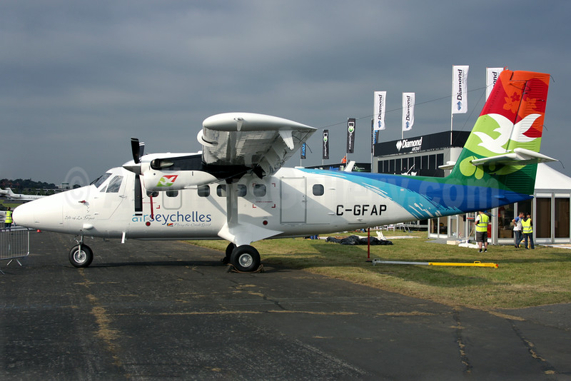 Air Seychelles' first Viking Air DHC-6-400 Twin Otter