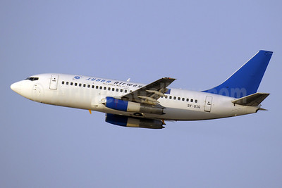 Jubba Airways Boeing 737-247 5Y-BXG (msn 23519) DXB (Paul Denton). Image: 903458.