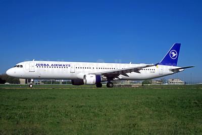 Jubba Airways (Air Mediterranee) Airbus A321-111 SX-ABD (msn 535) CDG (Jacques Guillem). Image: 934050.