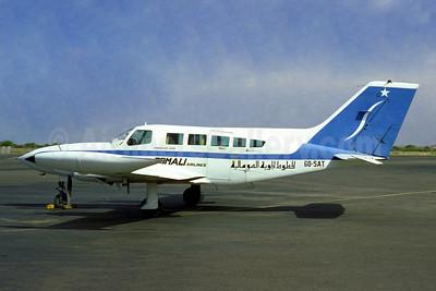 Somali Airlines Cessna 402B 6O-SAT (msn 402B-0584) JIB (Jacques Guillem). Image: 948349.