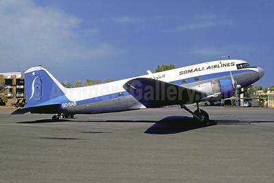 Somali Airlines Douglas C-47A-DL (DC-3) 6O-SAB (msn 20016) JIB (Jacques Guillem). Image: 948348.