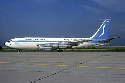 Somali Airlines Boeing 720-023B 6O-SAW (msn 18015)  ORY (Jacques Guillem). Image: 948345.