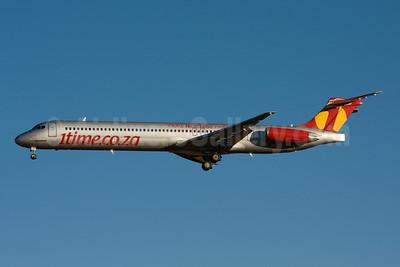 1time Aero (1time.co.za) McDonnell Douglas DC-9-83 (MD-83) ZS-OPX (msn 53012) (More Nice. Less Price) JNB (Michael Stappen). Image: 906850.