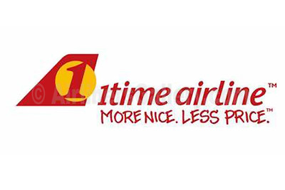 1. 1time Airline logo