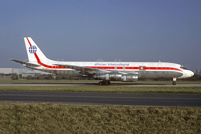 African International Airways McDonnell Douglas DC-8F-54 Jet Trader 3D-ADV (ZS-PAE) (msn 46012) CDG (Christian Volpati Collection). Image: 945614.