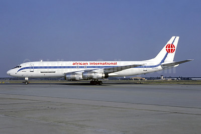 African International Airways McDonnell Douglas DC-8F-54 Jet Trader 3D-AFR (msn 45802) FRA (Christian Volpati Collection). Image: 920029.