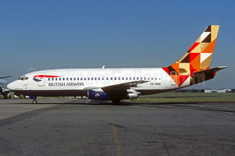 British Airways-Comair (South Africa) Boeing 737-236 ZS-NNG (msn 21793) (Sterntaler - Fairy Tale - Germany) JNB (Christian Volpati). Image: 931646.