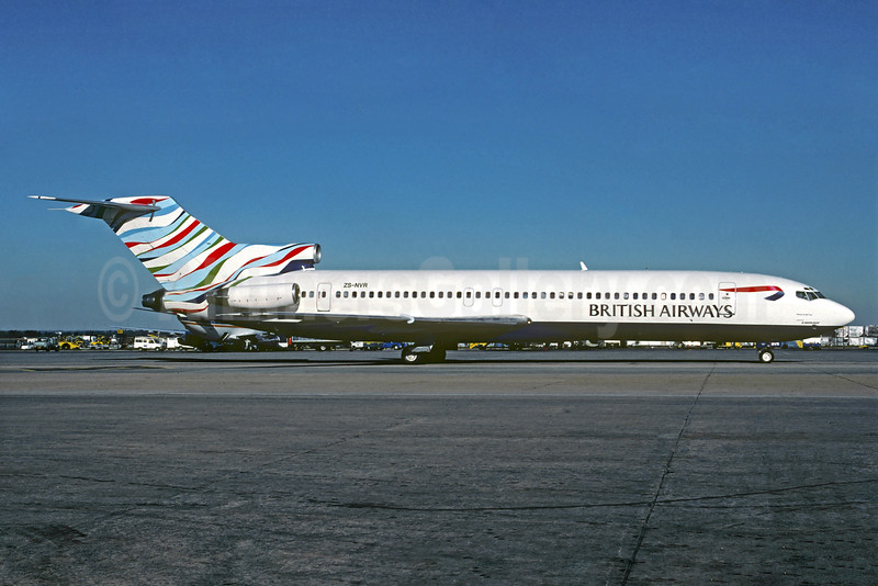 Airline Color Scheme - Introduced 1997 (Waves of the City - USA)