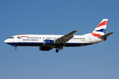 British Airways-Comair (South Africa) Boeing 737-436 ZS-OTF (msn 25305) JNB (Michael Stappen). Image: 907436.
