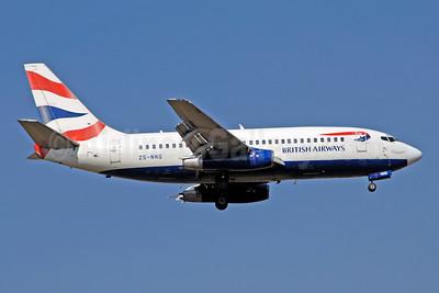 British Airways-Comair (South Africa) Boeing 737-236 ZS-NNG (msn 21793) (Union flag) JNB (Ton Jochems). Image: 953723.