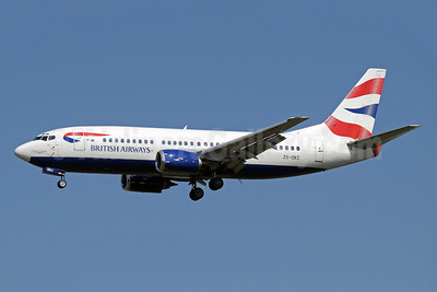 British Airways-Comair (South Africa) Boeing 737-376 ZS-OKC (msn 23484) JNB (Paul Denton). Image: 910397.