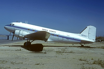 Caprivi Airways Douglas C-47A-DL (DC-3) N6907 (msn 9410) HLA (Christian Volpati Collection). Image: 946183.
