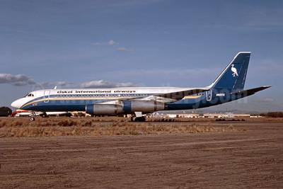 Ciskei International Airways Convair 990-30A-5 N8357C (msn 24) (Ports of Call colors) MZJ (Bob Shane - Bruce Drum Collection). Image: 952416.