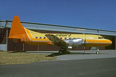 Court Air (South Africa) Convair 580 ZS-LYL (msn 39) CPT (Jacques Guillem Collection). Image: 928462.