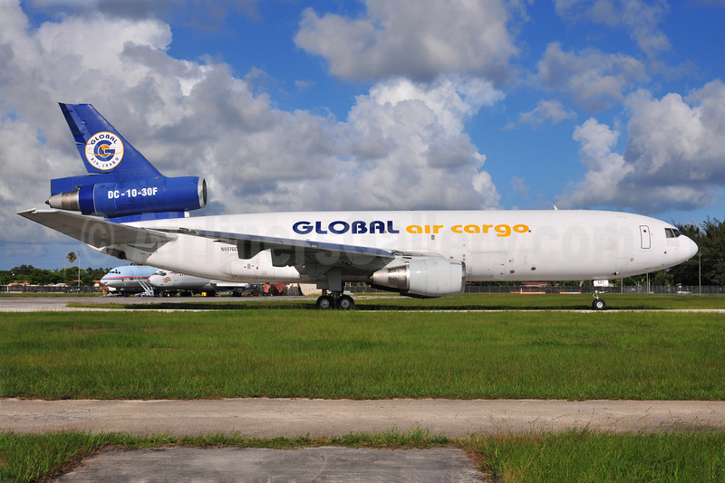 Global Air Cargo McDonnell Douglas DC-10-30F N607GC (msn 46978) (Gemni Air Cargo colors) OPF (Ton Jochems). Image: 906923.