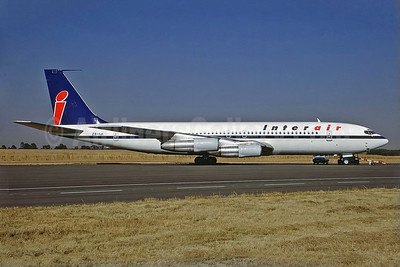 Interair (South Africa) Boeing 707-323C ZS-IJI (msn 19517) JNB (Perry Hoppe). Image: 923295.