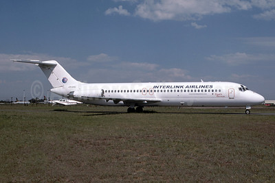 Interlink Airlines McDonnell Douglas DC-9-32 ZS-GAL (msn 47601) JNB (Bruce Drum Collection). Image: 952677.