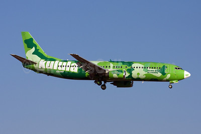 Kulula Boeing 737-4S3 ZS-OAF (msn 25116) (No One Saw Us Coming) JNB (Michael Stappen). Image: 906759.