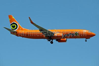 Mango (South African Airways) Boeing 737-8BG WL ZS-SJK (msn 32355) JNB (Paul Denton). Image: 910198.
