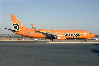 Mango (South African Airways) Boeing 737-8BG WL ZS-SJP (msn 32358) HLA (TMK Photography). Image:  920548.