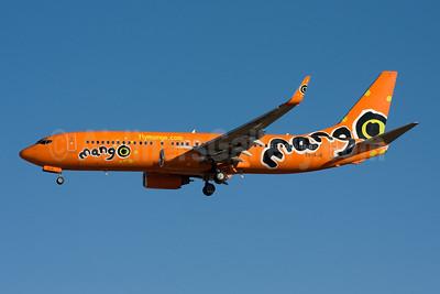 Mango (South African Airways) Boeing 737-8BG WL ZS-SJG (msn 32353) JNB (Michael Stappen). Image: 906853.