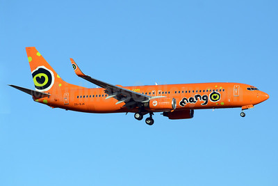 Mango (South African Airways) Boeing 737-8BG WL ZS-SJK (msn 32355) JNB (TMK Photography). Image: 913073.