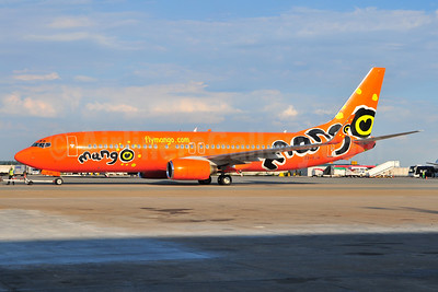 Mango (South African Airways) Boeing 737-8BG WL ZS-SJH (msn 32354) JNB (Ton Jochems). Image: 953539.