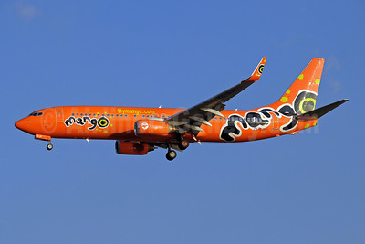 Mango (South African Airways) Boeing 737-8BG WL ZS-SJP (msn 32358) JNB (Paul Denton). Image: 910200.