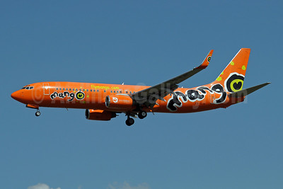 Mango (South African Airways) Boeing 737-8BG WL ZS-SJH (msn 32354) JNB (Paul Denton). Image: 910197.