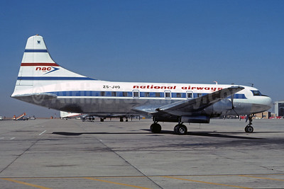 NAC-National Airways (South Africa) Convair 440-75 ZS-JVO (msn 503) JNB (Christian Volpati Collection). Image: 931617.