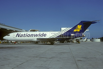 Nationwide Airlines Boeing 727-116 CC-CAG (ZS-NYX) (msn 19811) MIA (Bruce Drum). Image: 103878.