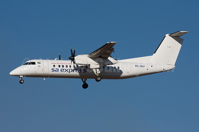 SA Express (South African Express Airways) Bombardier DHC-8-315 ZS-NLY (msn 352) JNB (Michael Stappen). Image: 906854.