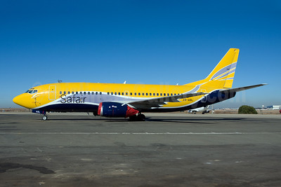 Safair Boeing 737-3B3 (QC) ZS-ASL (msn 24387) (Europe Airpost colors) JNB (Michael Stappen). Image: 907126.