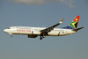 South African Airways Boeing 737-844 WL ZS-SJU (msn 32644) JNB (Paul Denton). Image: 923669.