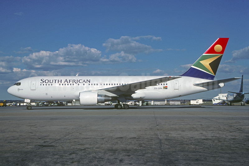 South African Airways Boeing 767-2B1 ER ZS-SRA (msn 26471) JNB (Christian Volpati). Image: 932577.