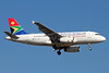 South African Airways Airbus A319-131 ZS-SFH (msn 2355) JNB (Christian Volpati). Image: 933800.