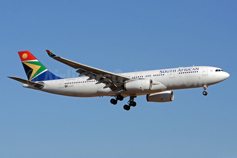 South African Airways Airbus A330-243 ZS-SXV (msn 1249) JNB (TMK Photography). Image: 913573.