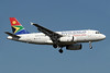 South African Airways Airbus A319-131 ZS-SFI (msn 2375) JNB (Paul Denton). Image: 910187.