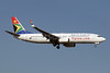 South African Airways Boeing 737-85F WL ZS-SJD (msn 28829) JNB (Paul Denton). Image: 910180.