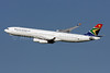 South African Airways Airbus A340-313X ZS-SXH (msn 197) IAD (Brian McDonough). Image: 908831.