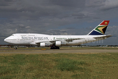 """Kaapstad"" - Leased to Nigeria Airways"