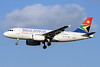 South African Airways Airbus A319-131 ZS-SFL (msn 2438) JNB (TMK Photography). Image: 913576.