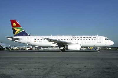 South African Airways Airbus A320-231 ZS-SHF (msn 335) JNB (Christian Volpati). Image: 946190.